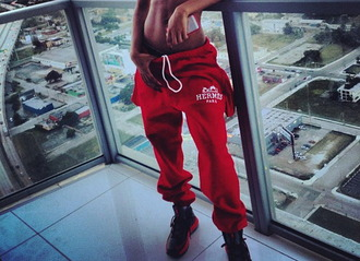 pants jordans sweatpants teyana taylor