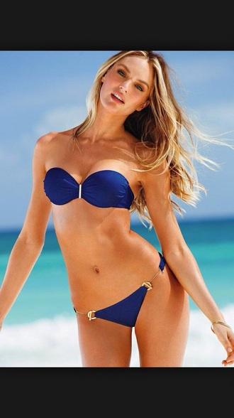 swimwear bikini style blue bikini jewels