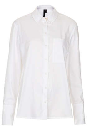Staple Cotton Shirt by Boutique - Topshop