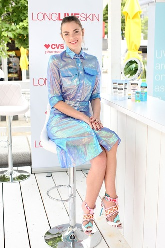 dress metallic jaime king sandals midi dress shoes