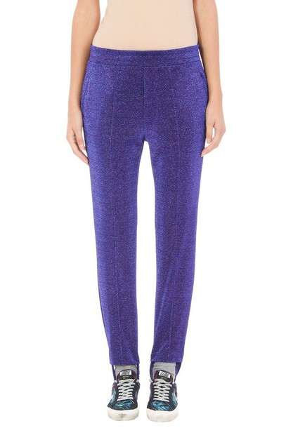 Golden goose purple pants