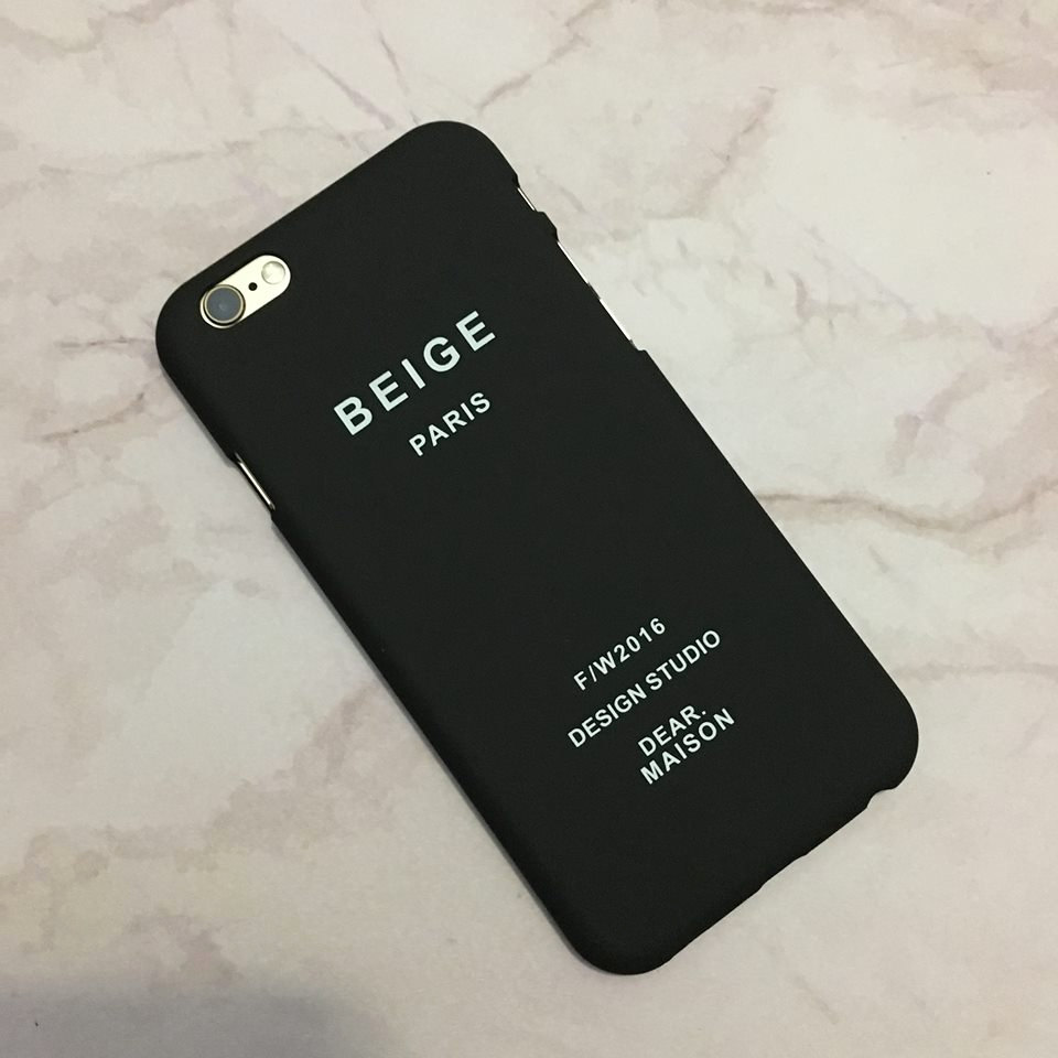 iPhone 6 / 6s. Chic case with letters / text