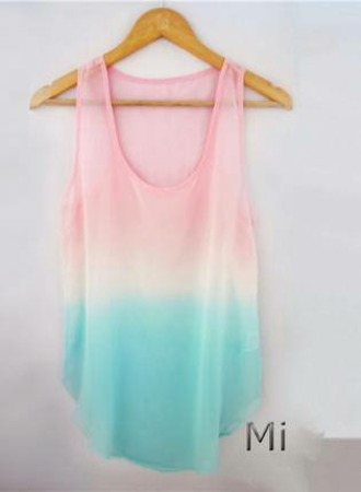 tank top beatiful rose top