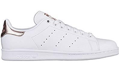 bf1eef3337703 Amazon.com | adidas Women's Stan Smith, FOOTWEAR WHITE/ROSE GOLD BB1434 |  Fashion Sneakers
