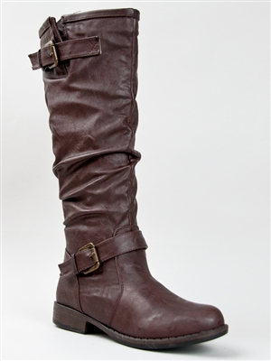 02n buckle riding boot