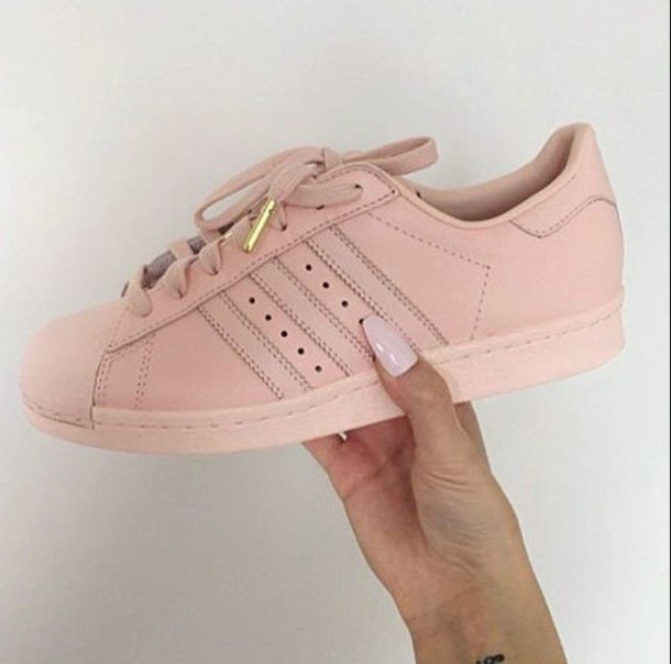 Adidas Superstar Pink Rose