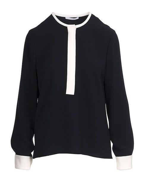Hugo Boss shirt open blue top