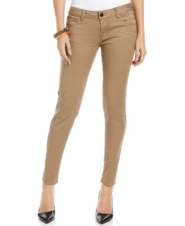 new product exquisite craftsmanship choose clearance Celebrity Pink Jeans, Skinny Khaki Wash - Juniors Jeans - Macy's