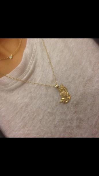 jewels necklace gold drake sprxk dope