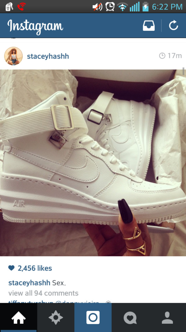 shoes nike air force 1 white nike air force one nike
