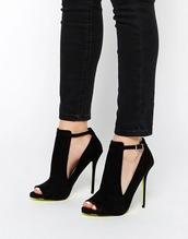 shoes,black heels,high heels,cut out high heels,blouse,cut-out ankle boots
