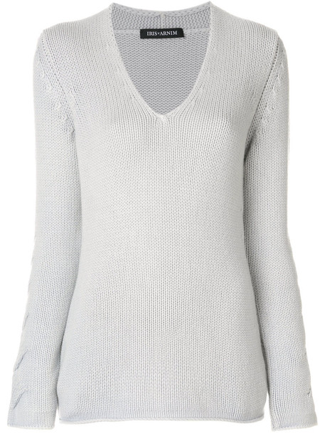 Iris von Arnim sweater women grey