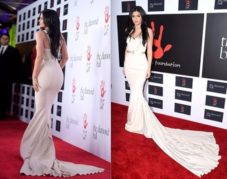 dress long prom dress bustier dress gown prom dress wedding dress kylie jenner red carpet dress bustier wedding dress