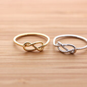 jewels,knot ring,ring,infinity ring,jewelry,infinity
