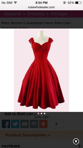 dress red red dress prom dress cute dress sexy dress vintage vintage dress retro dress retro sweetheart neckline prom prom gown red prom dress ball gown dress girly girl sleeveless sleeveless dress cute