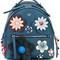 Fendi mini flower appliqué backpack, blue