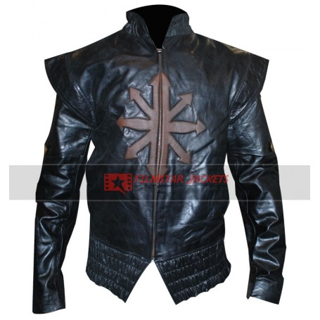 Three Musketeers Logan Lerman (D'Artagnan) Leather Jacket