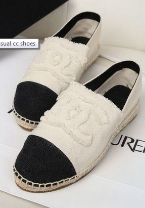 Luxury Store - Chanel Flat Shoes Beige