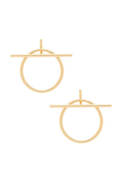 Rebecca Minkoff ring metallic gold jewels