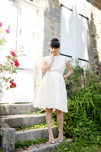 shoes the cherry blossom girl dress