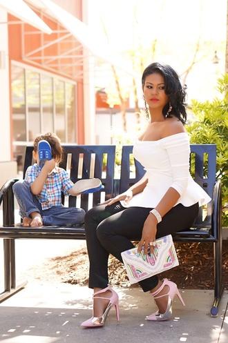 blouse lookbook blogger