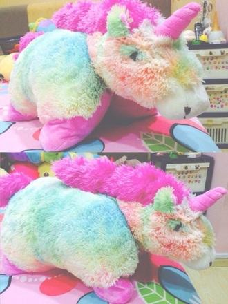 bag unicorn stuffed animal