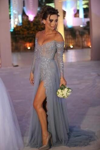 dress sliver evening dresses uk off the shoulder prom dresses high slit evening gowns elegant evening dresses uk plus size prom dress