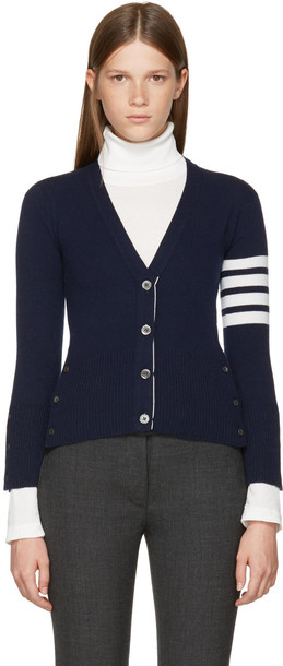 cardigan cardigan short classic navy sweater