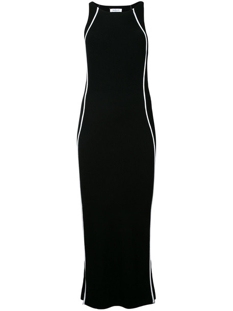MUGLER dress knitted dress women black