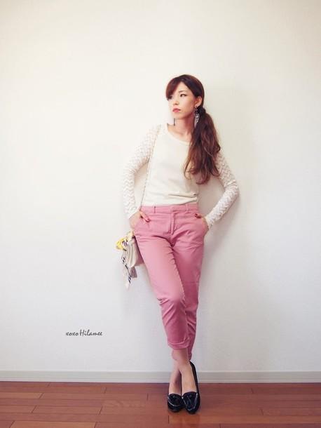 xoxo hilamee t-shirt pants shoes bag scarf jewels