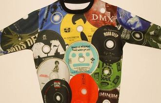 sweater hip hop record cd jacket eminem souls of mischief wu-tang clan