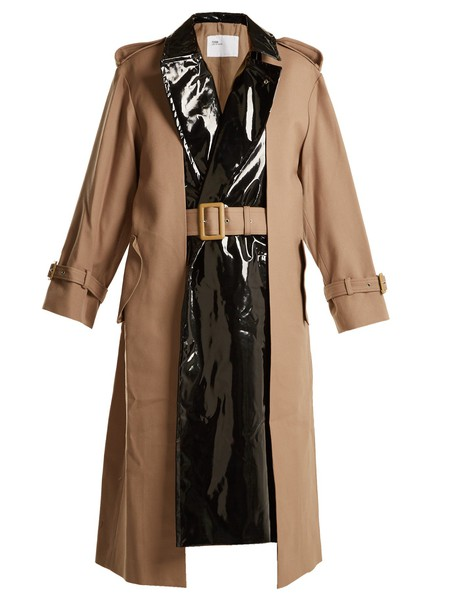Toga coat trench coat beige