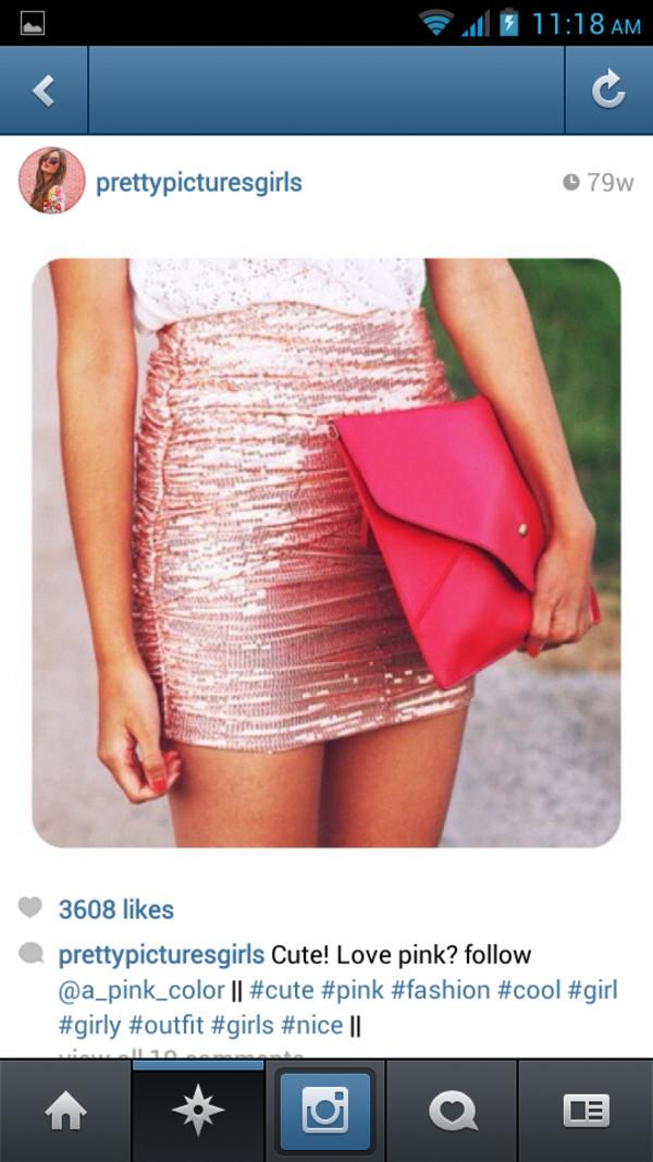 skirt sparkly skirt bodycon skirt bodycon glitter light pink pink sequins sequin skirt pink skirt pink sequin skirt bandage skirt