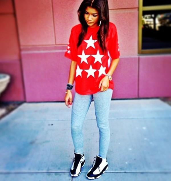 blouse zendaya zendaya jeans shoes
