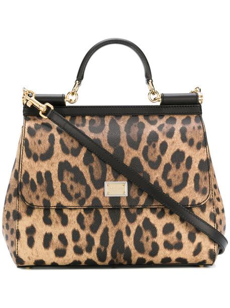 Dolce & Gabbana women bag shoulder bag leather brown
