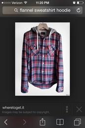 flannel sweatshirt,jacket,flannel coat,sweater,plaid,long sleeves,pattern,style
