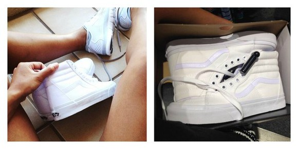 shoes white white shoes white kicks hightops footwear white sneakers white trainers