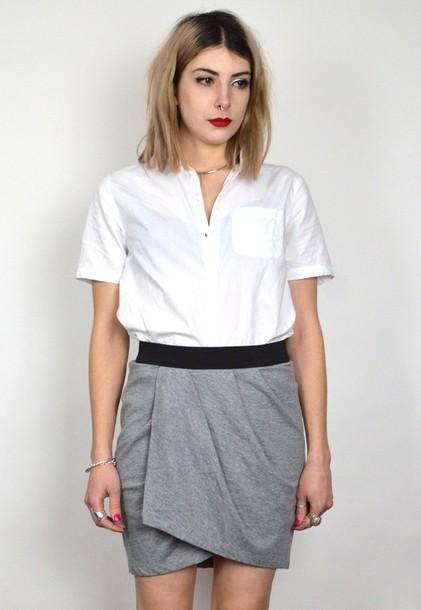 shirt skirt vintage dress t-shirt women girl girly wishlist skater skirt  skater skater dress b089bb613424