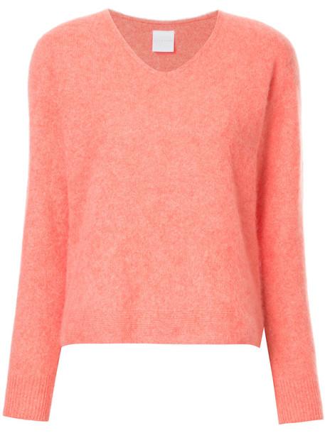 Cityshop jumper women wool purple pink sweater