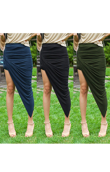 Galla Wrap Skirt | Outfit Made