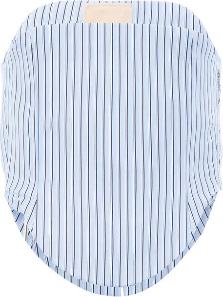 Y / Project shirt women cotton blue top