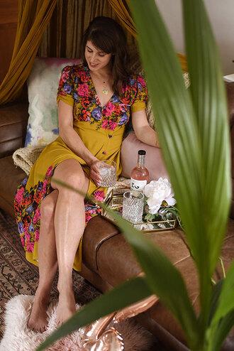 thank fifi blogger dress jewels maxi dress