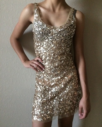 dress metallic dress metallic gold dress gold sequins gold sexy dresses sequin dress lace dress see through dress