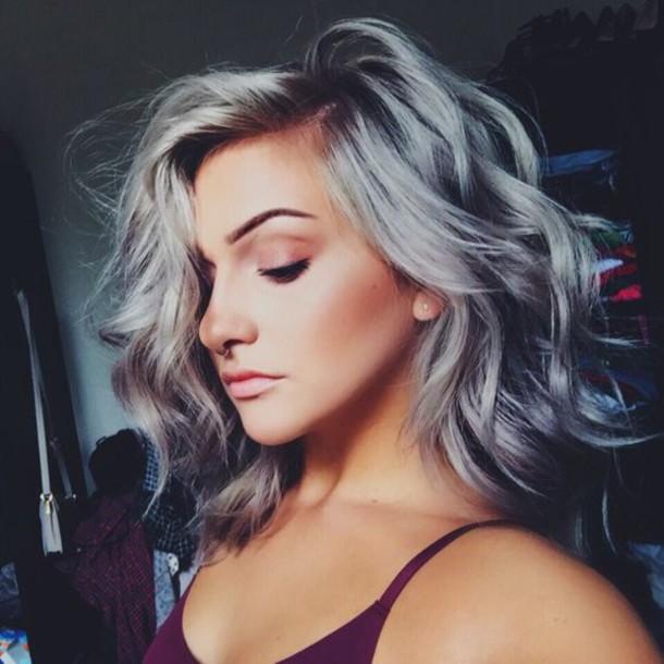Hair Accessory Silver Hair Curly Hair Hairstyles Make Up