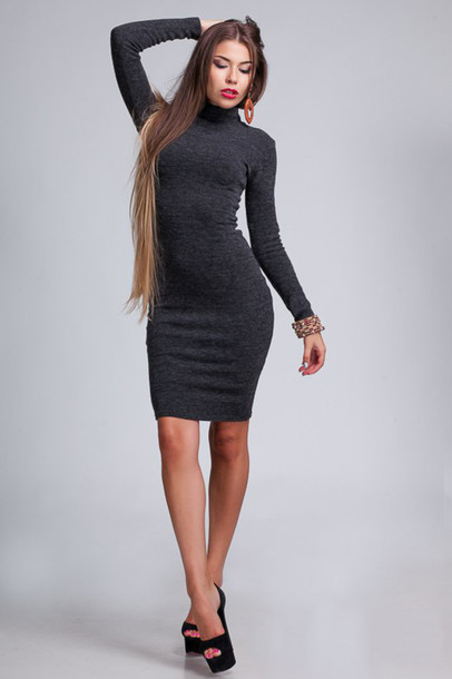 Dark Gray Dress