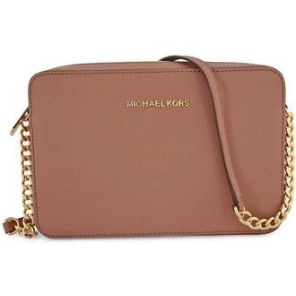 bag michael kors mini shoulder bag pink bag designer bag