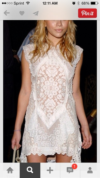 olsen sisters dress lace