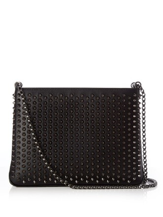 embellished bag shoulder bag black