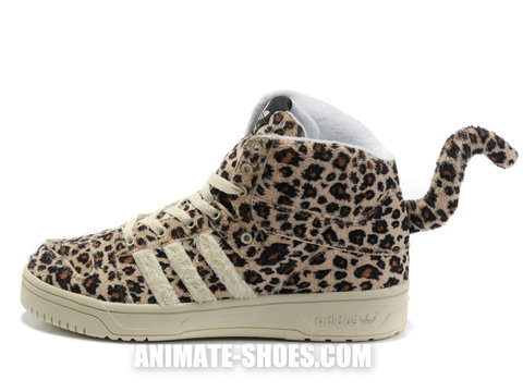 Adidas originals js leopard shoes by jeremy scott for sale