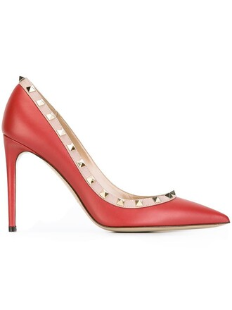 pumps red shoes